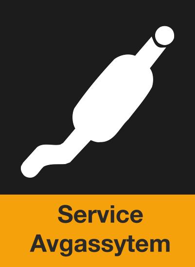 Här ser du en ikon över att BestDrive kan byta avgassystem & utföra service på avgassystem.